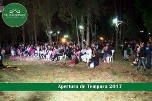 Apertura de Tempora 2017 en Villa Ciudad Parque